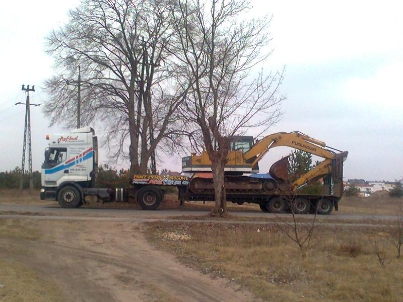 transport materiałów sypkich